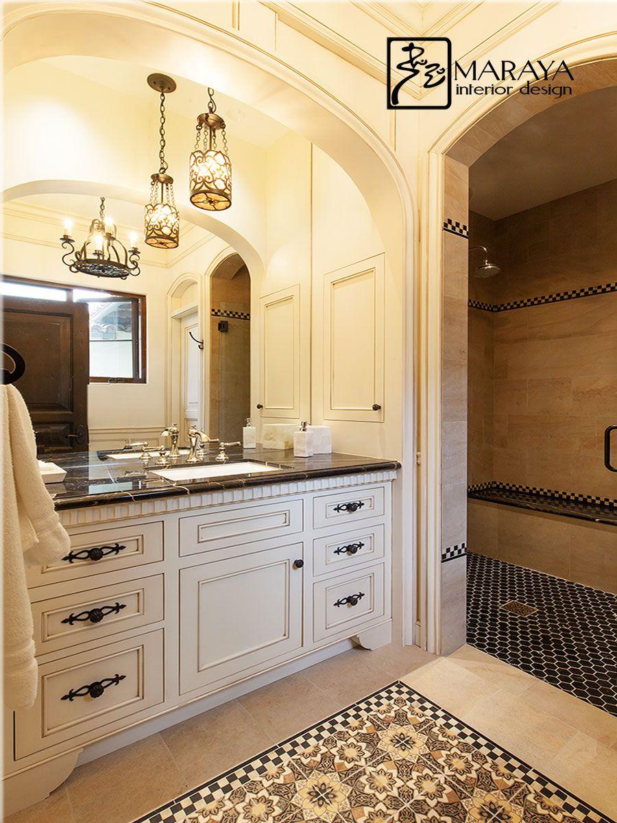Spanish Tile Bath Spanish Style Bathrooms Spanish Style Interiors Simple Bathroom Remodel