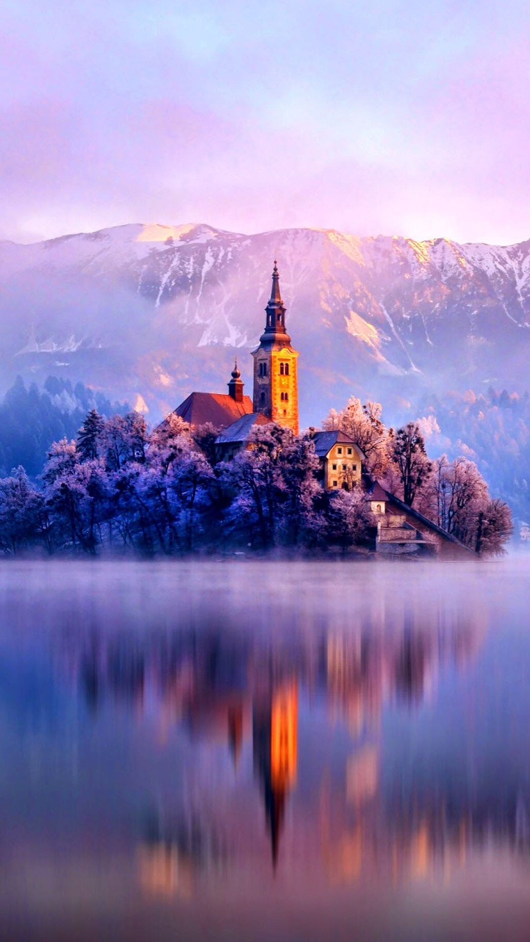 Church of the Assumption Lake Bled, Slovenia 風景, 庭作りの
