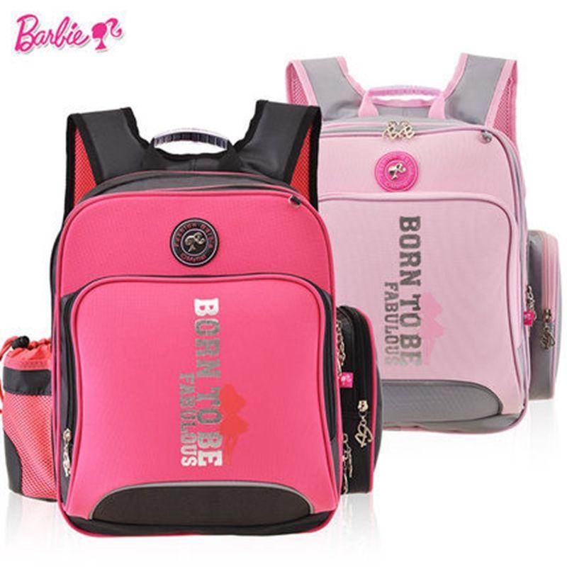 Barbie orthopedic/ergonomic elementary school bag books child ...