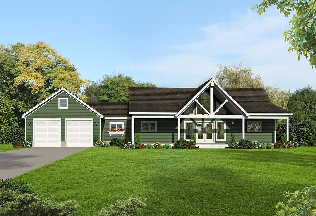 A well crafted Cottage home Plan 940 00079