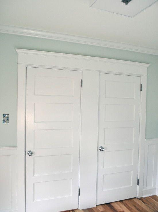 Pair Lynden Door Conmore 5 Panel Doors With Complementary