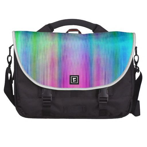 Pattern multicolored no. 26 designed by Tutti Laptop Commuter Bag