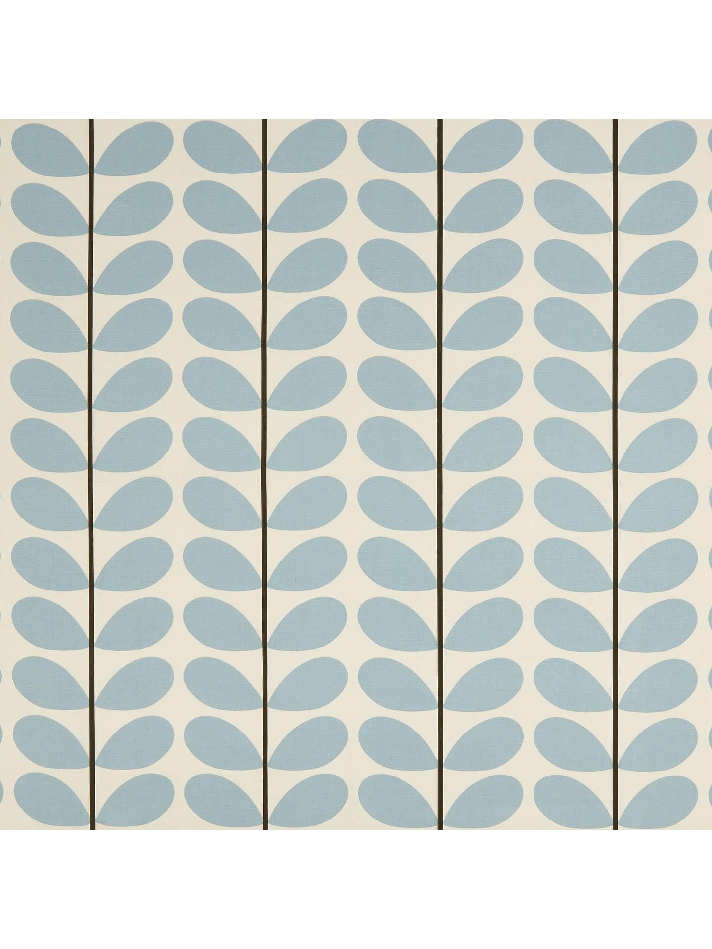Orla Kiely Two Stem Furnishing Fabric, Grey Made to