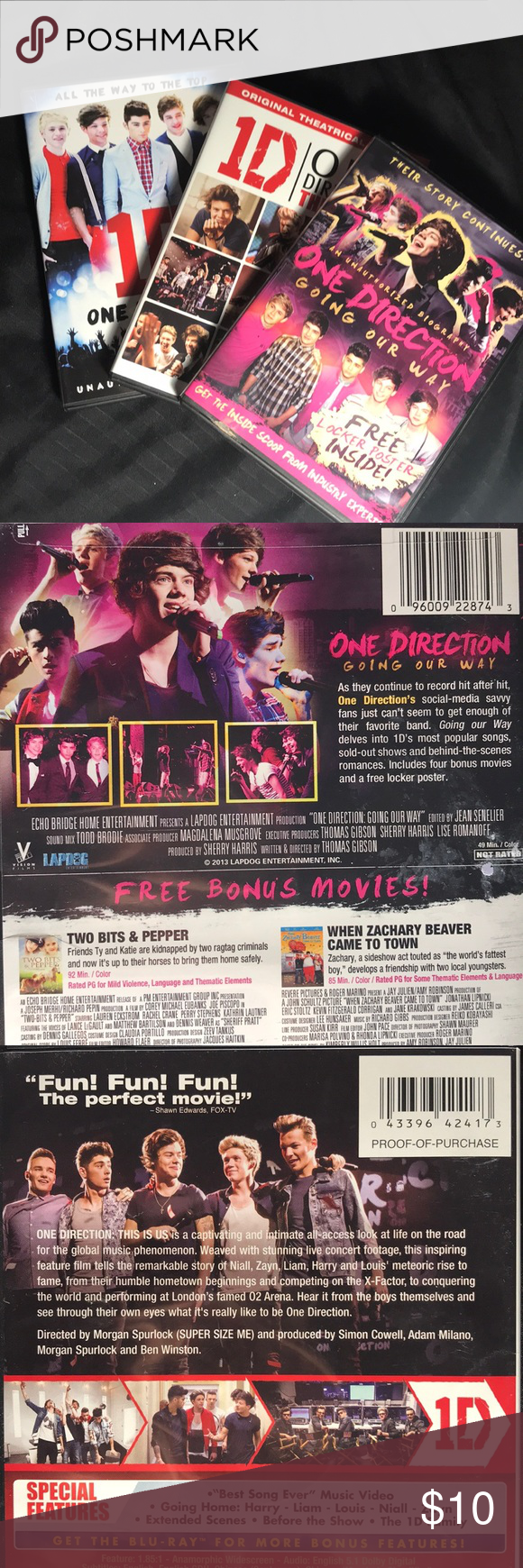 3 One Direction Film Biographies One Direction All The Way To The Top 2012 One Direction Going Our Way 2013 One Direction Gifts One Direction Biography