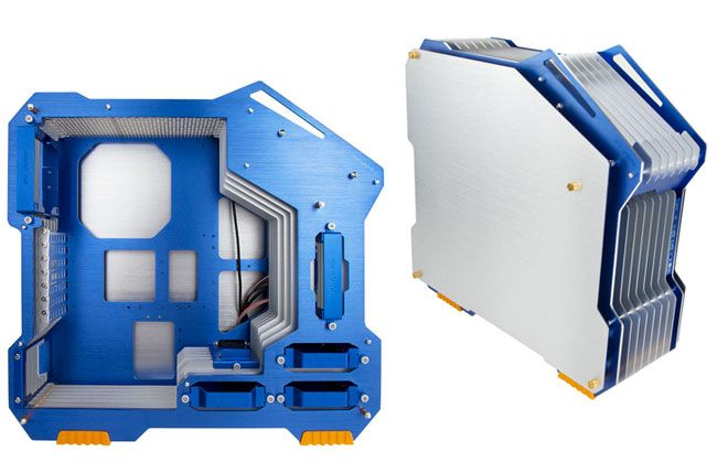 In-Win D and H-Frame PC cases: Tubes, and LEDs and aluminum oh my ...