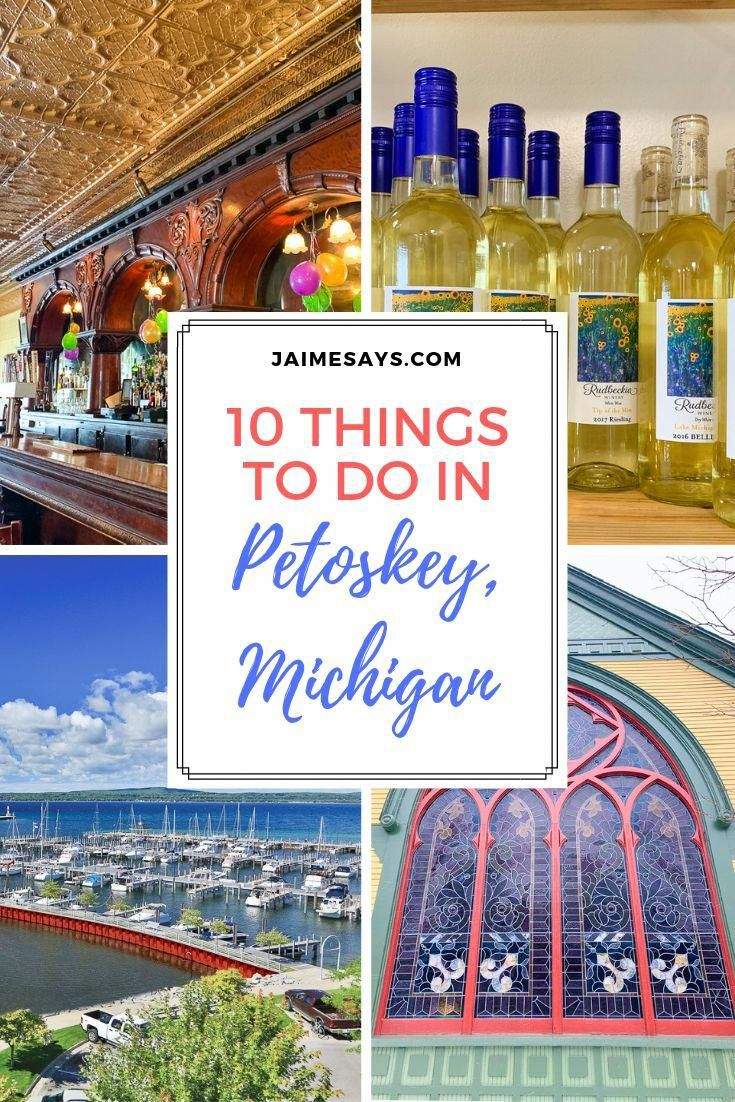10 Things to do in Petoskey This Summer - Jaime Says