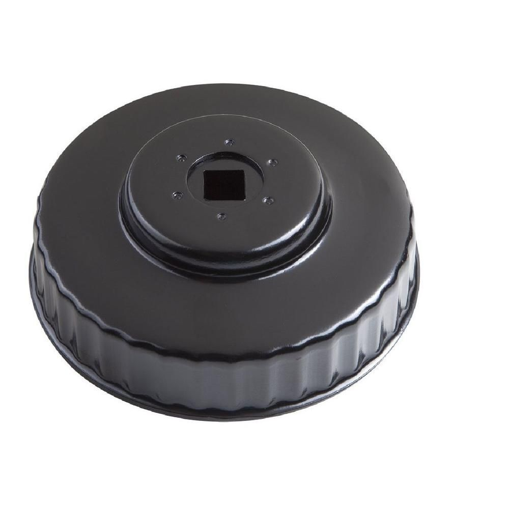 Steelman 93 mm x 36 Flute Oil Filter Cap Wrench in Black