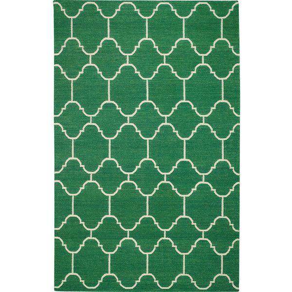 Capel Rugs Serpentine Dark Green Wool Rug 860 Pln Liked On