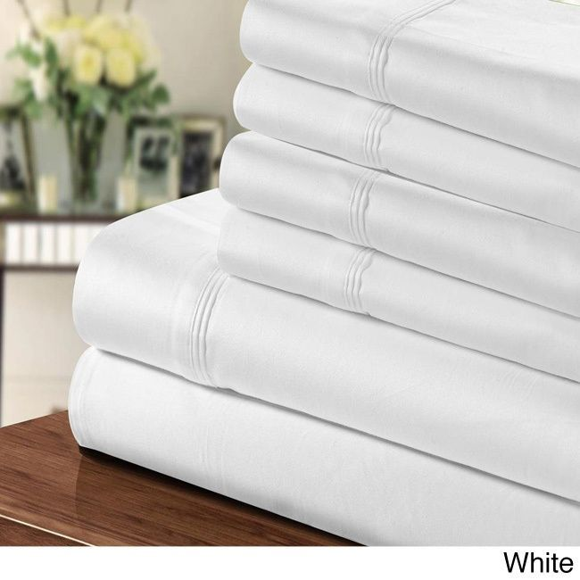 Sleep Like A Baby With These Luxuriously Comfortable 1000 Thread Count Sheets Crafted Rich Egyptian Cotton And Polyester Blend Available I