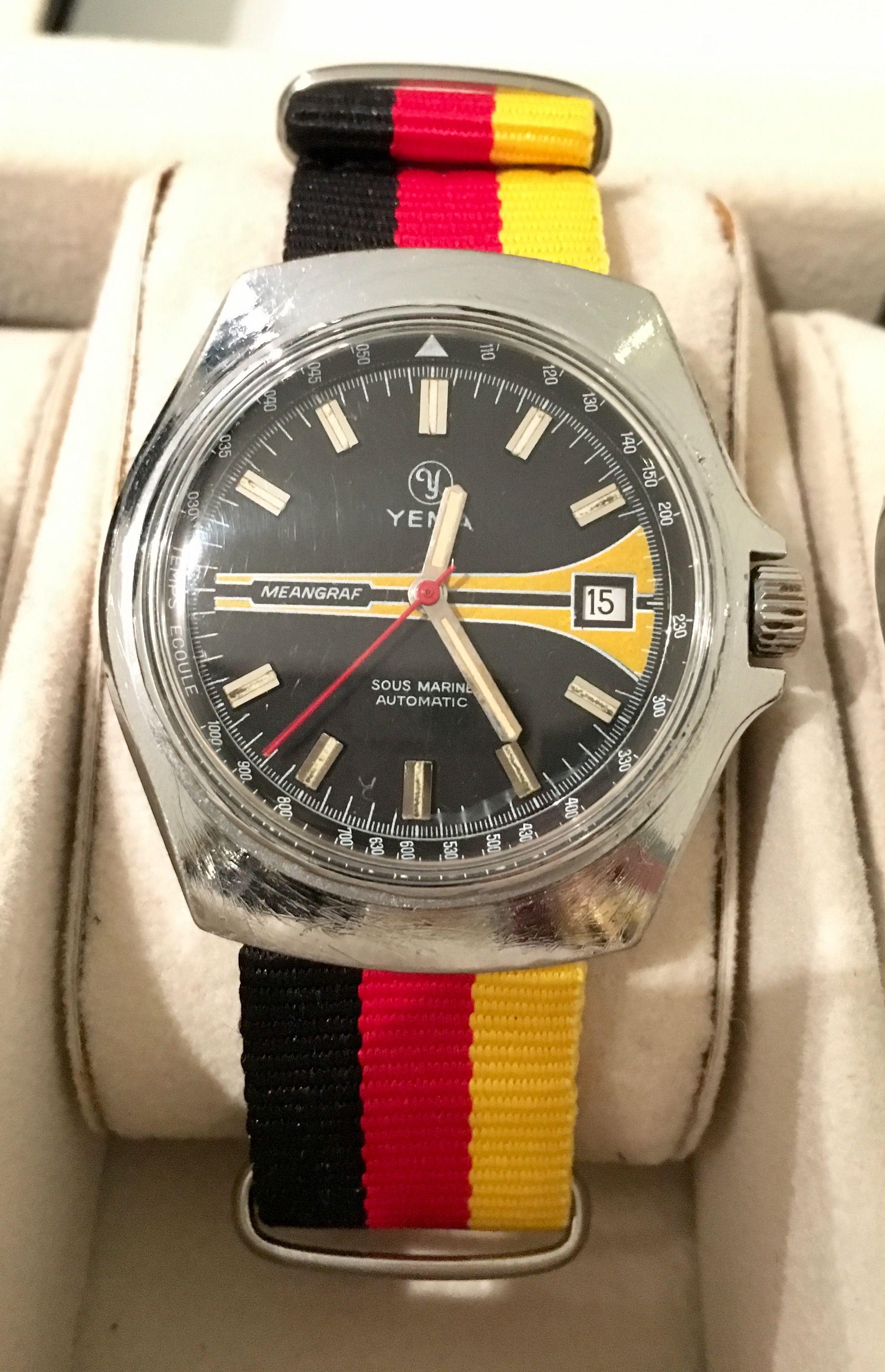 0410cebc2704 Yema Meangraf Nato Strap Men s Watches