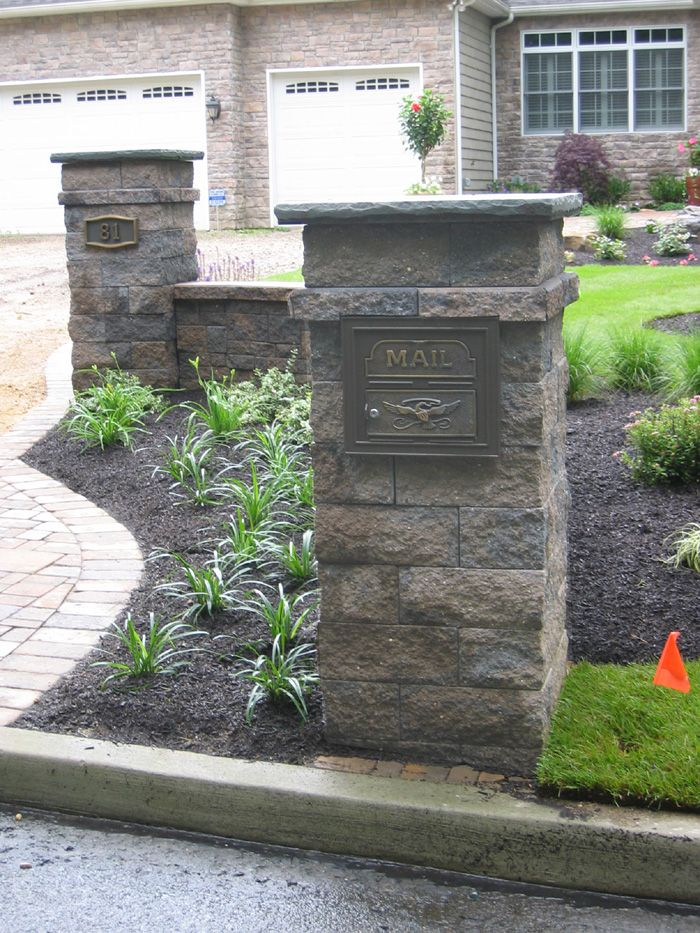 Classic Faceplate Mailbox | landscaping | Mailbox