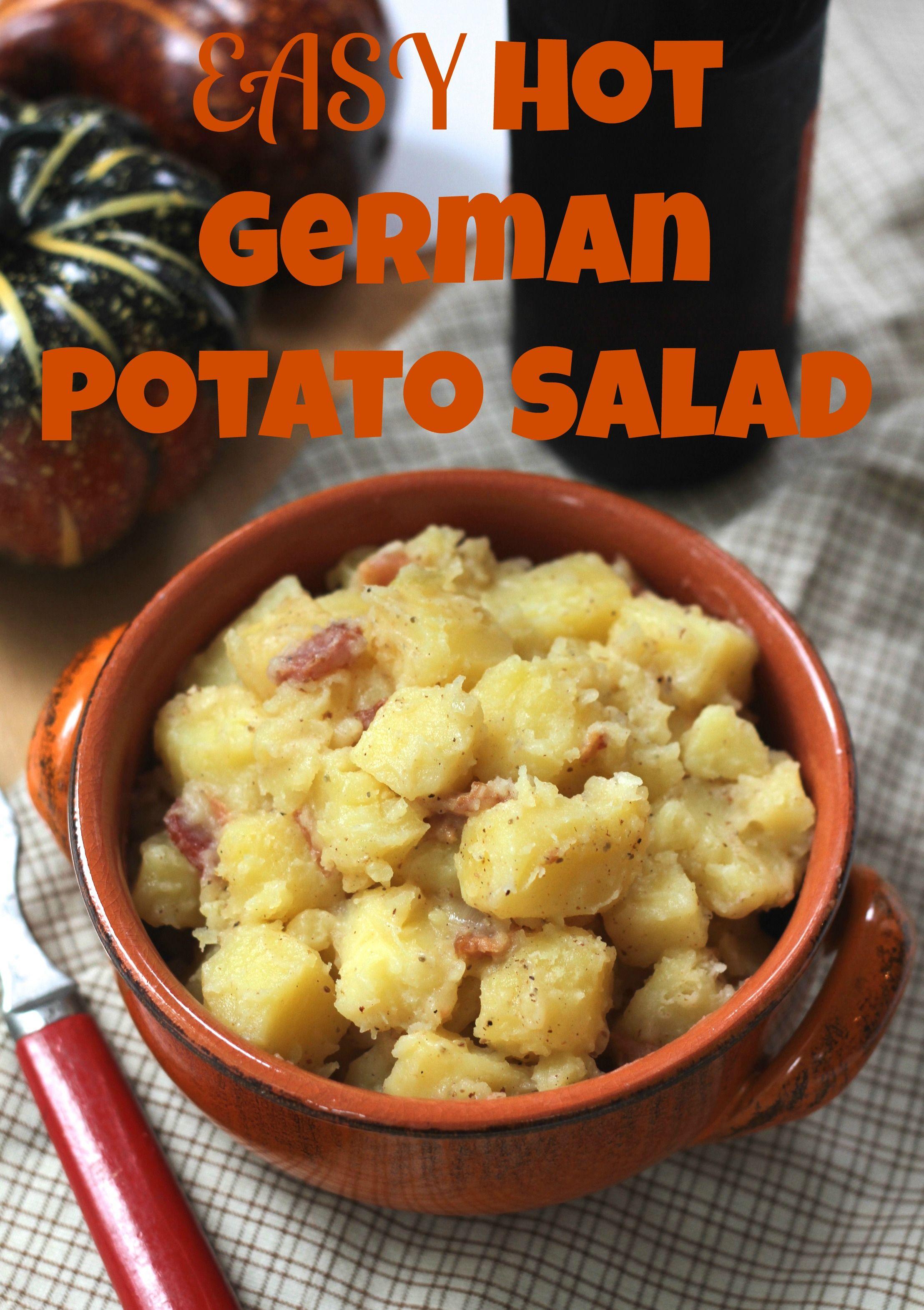 Easy hot german potato salad via brittanys pantry makes oktoberfest easy hot german potato salad via brittanys pantry makes oktoberfest especially delicious forumfinder Gallery