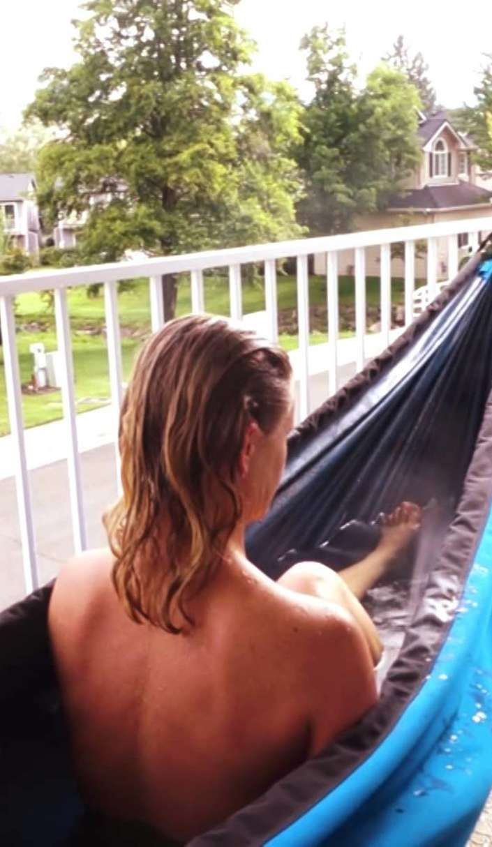Mad geniuses have created the ultimate camping gear: A hot tub hammock