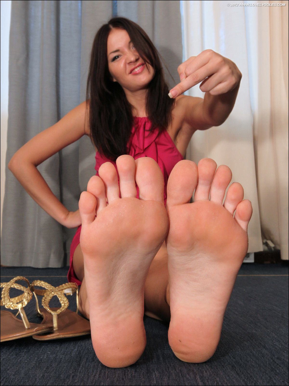 Fucked feet