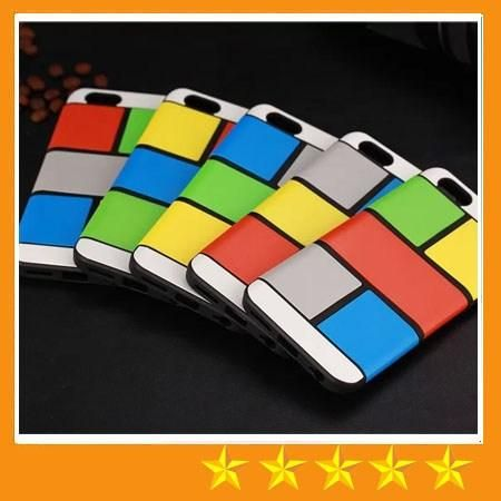 Colorful Skin Cover Hybrid Block Magic Cube DIY Soft