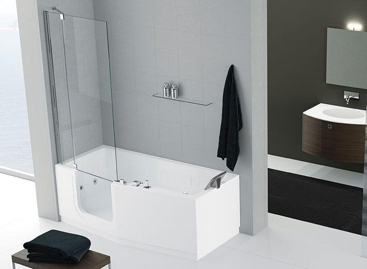 Minimalistisch bad my loft bathroom pinterest loft bathroom