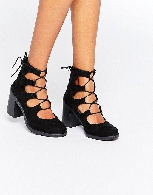 e65deaf0c498 Discover Fashion Online Black Block Heel Sandals