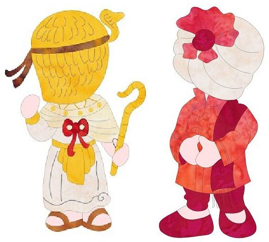 Sunbonnet Sam In Egypt and India Released - http://www.seamstobesew.com/sunbonnet-sam-in-egypt-and-india-released/