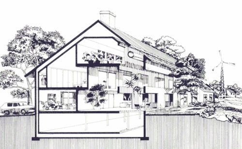 Home Energy Conserving - an explanation of design, how thermal walls