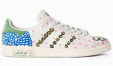 separation shoes b985f ecdfe Happy Feet  Pharrell s  Hand-Painted  adidas Collaboration To Raise Money  For Good Cause