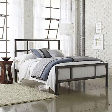 Studio Spencer Metal Bed Jcpenney 350 Metal Beds Bed Furniture Bed Frame