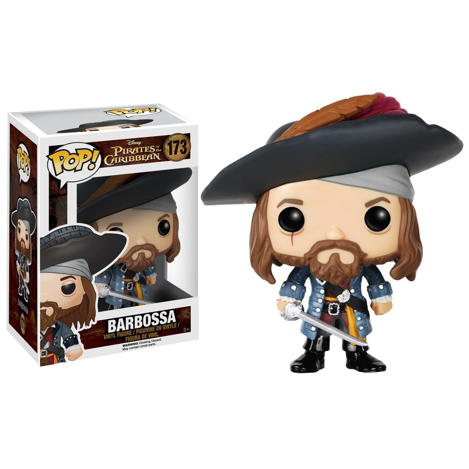 Funko Disney Pirates Of The Caribbean Dorbz Barbossa Vinyl Figure NEW Toys