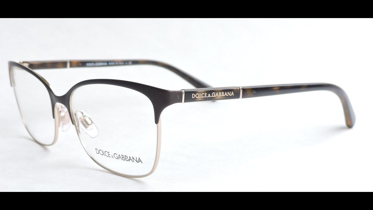 ee66c4241233 Dolce Gabbana 1268 Eyeglasses 1254 Matte Havana