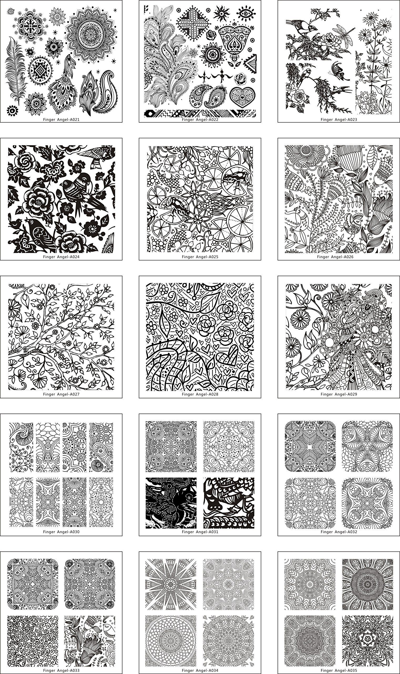 Dorable Nail Art Template Elaboration - Resume Template Samples ...
