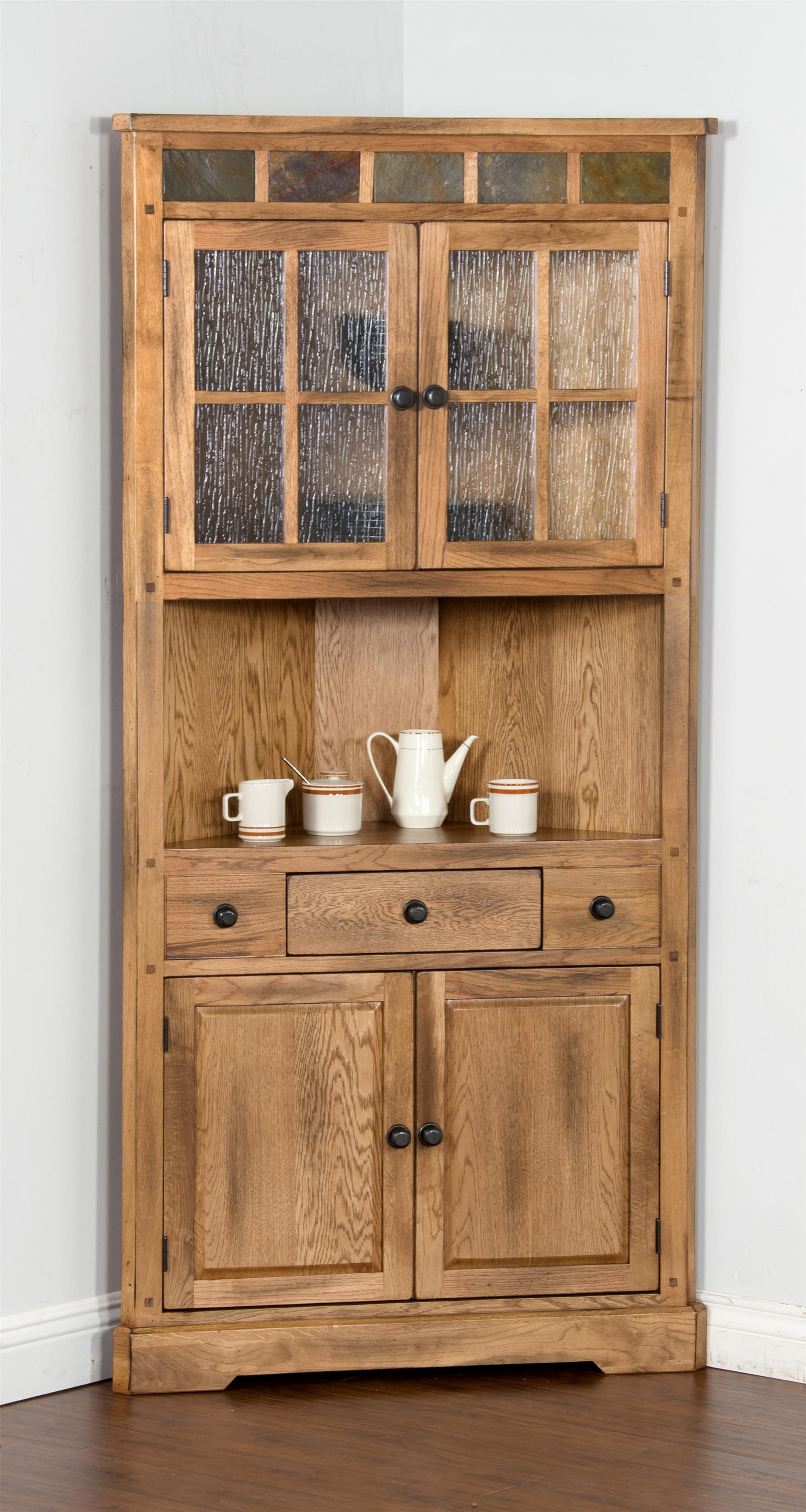 Sedona Corner China Cabinet By Sunny Designs