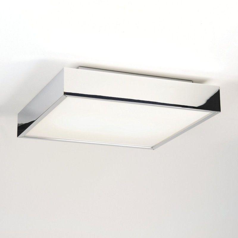 Quadratische Deckenlampe Wandleuchte Furs Bad In Modernem Design