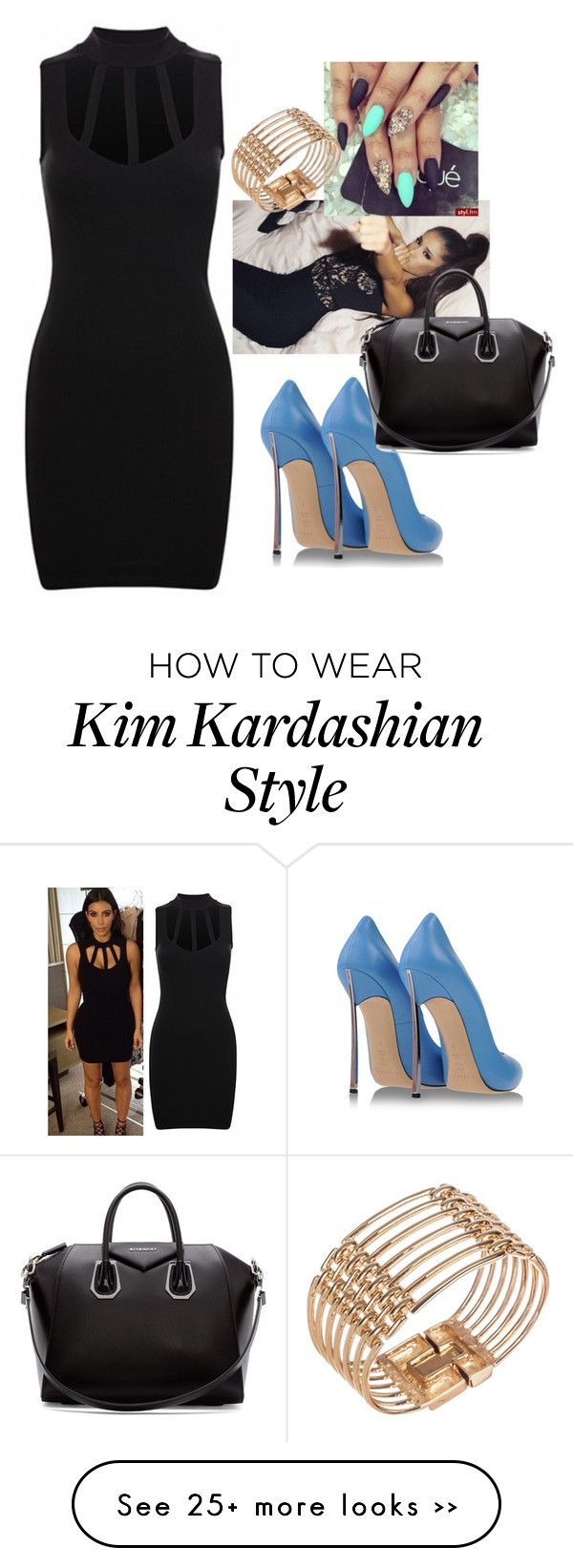 """""""Kim K."""" by aerielle24 on Polyvore"""