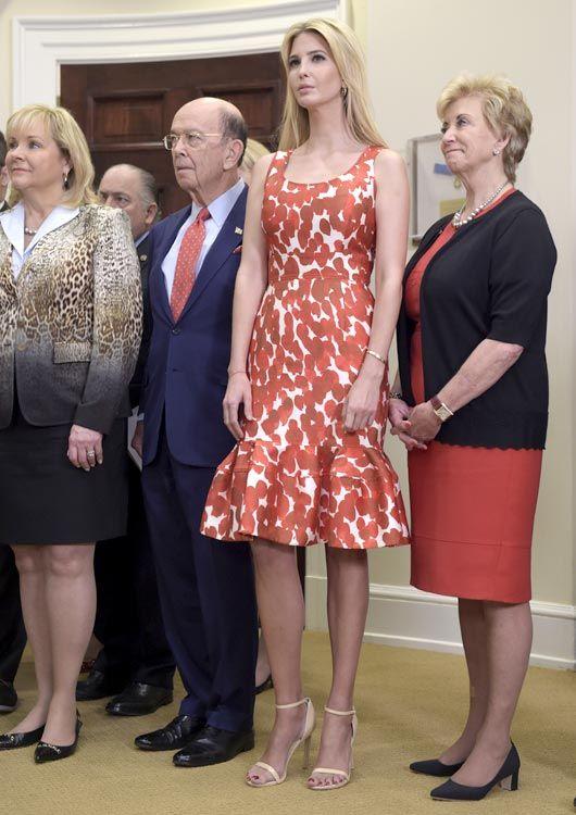 El vestido de Ivanka Trump que podría convertirla en 'royal'