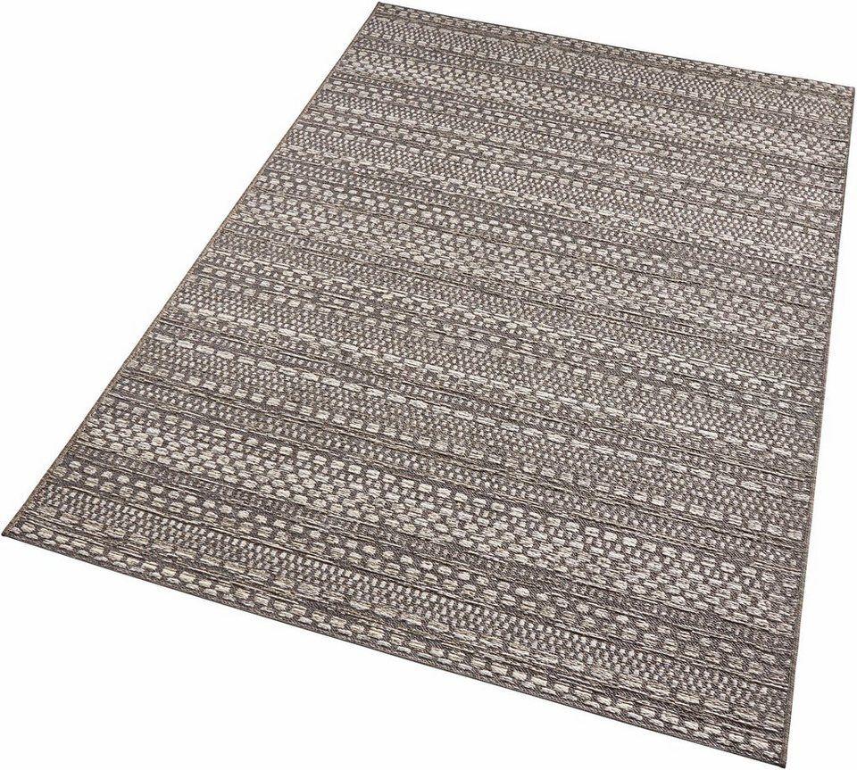 Teppich Pine Bougari Rechteckig Höhe 7 Mm In Und Outdoor Geeignet Wohnzimmer Online Kaufen Otto Teppich Outdoor Teppich Teppich Grau