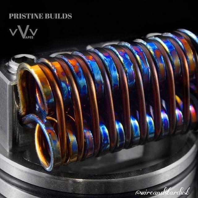 #WireCrushWednesdays Featuring @wireandstardust #coilporn #coilart #vape…