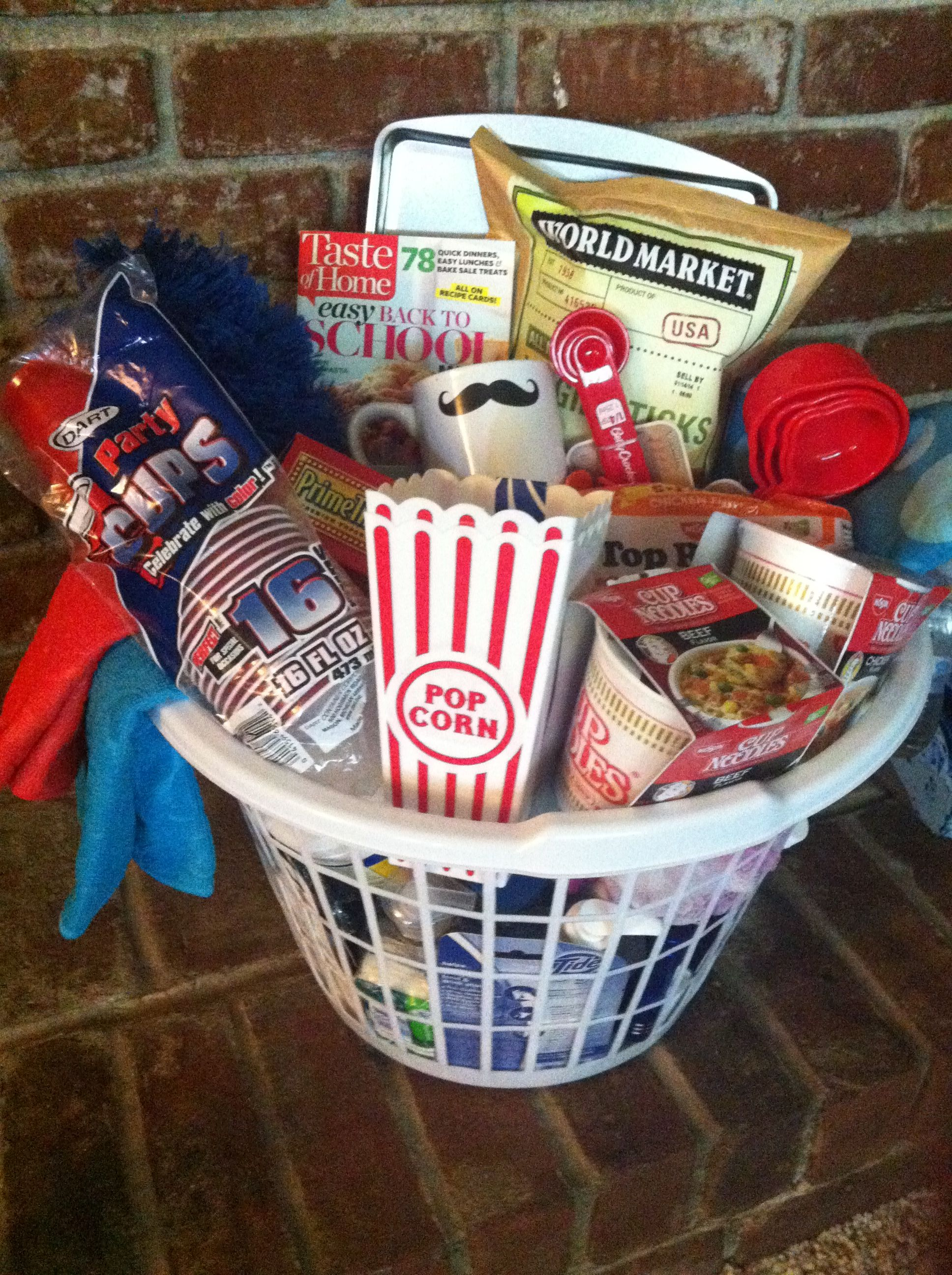 College Survival Kit/apartment Warming Gift!