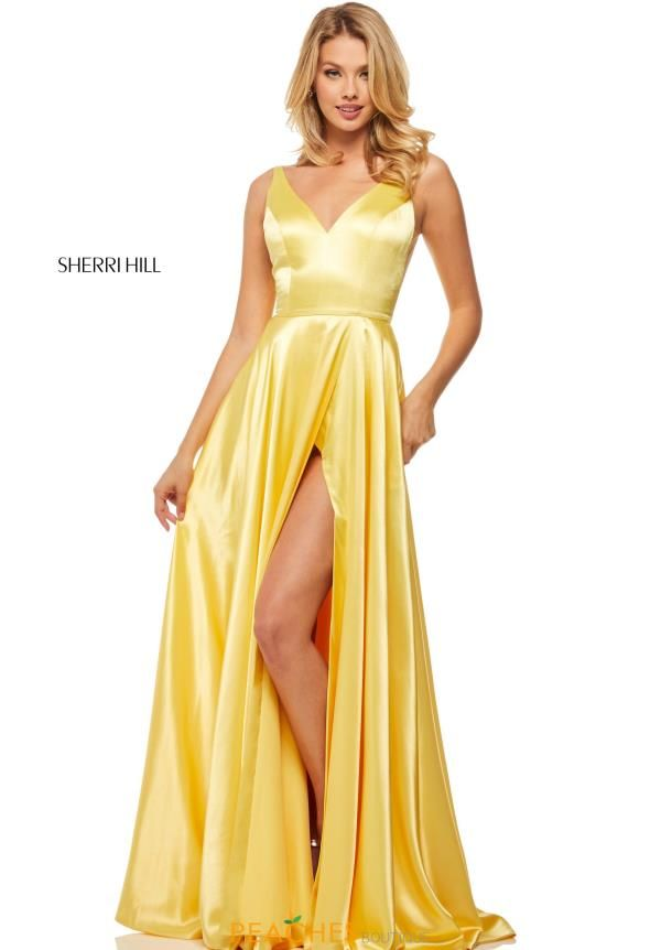 c2f184bcd8dc08 Sleek and alluring this ravishing prom dress 52410 by Sherri Hill will  create a fascinating impression. Sexy, yet sophisticated this ultra chic  prom dress ...