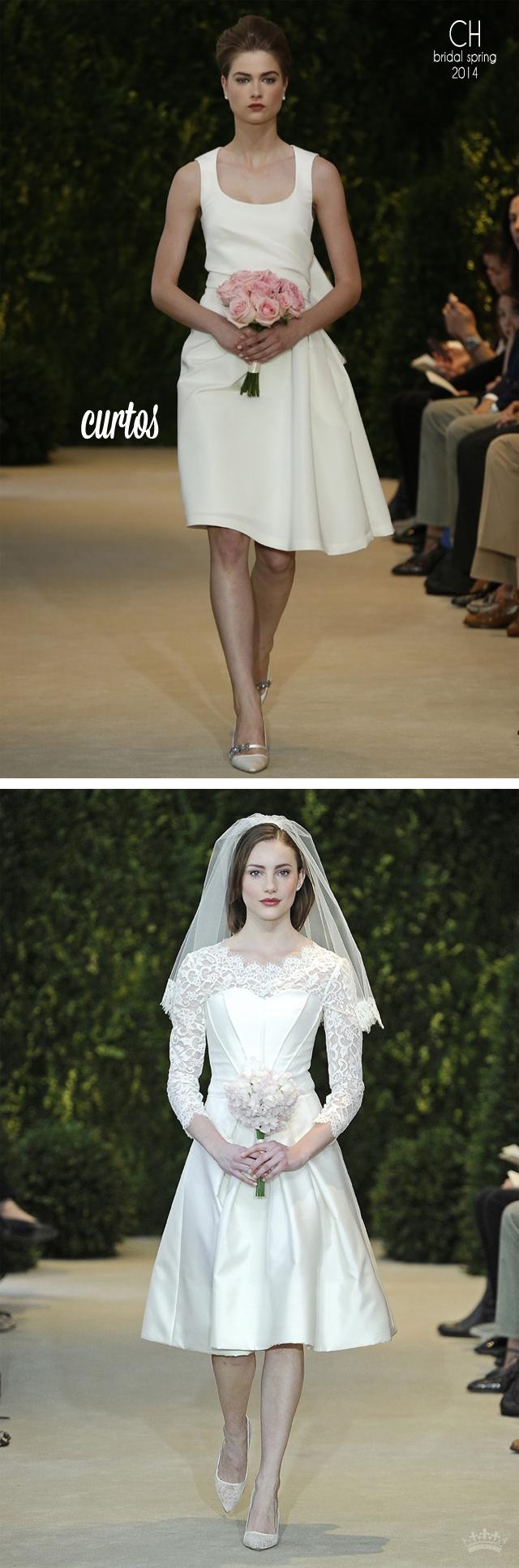 » Carolina Herrera – Bridal Spring 2014