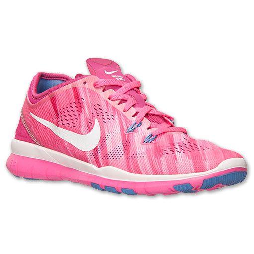 2e5ae9ba5c69 Women s Nike Free 5.0 TR Fit 5 Print Training Shoes - 704695 601 ...