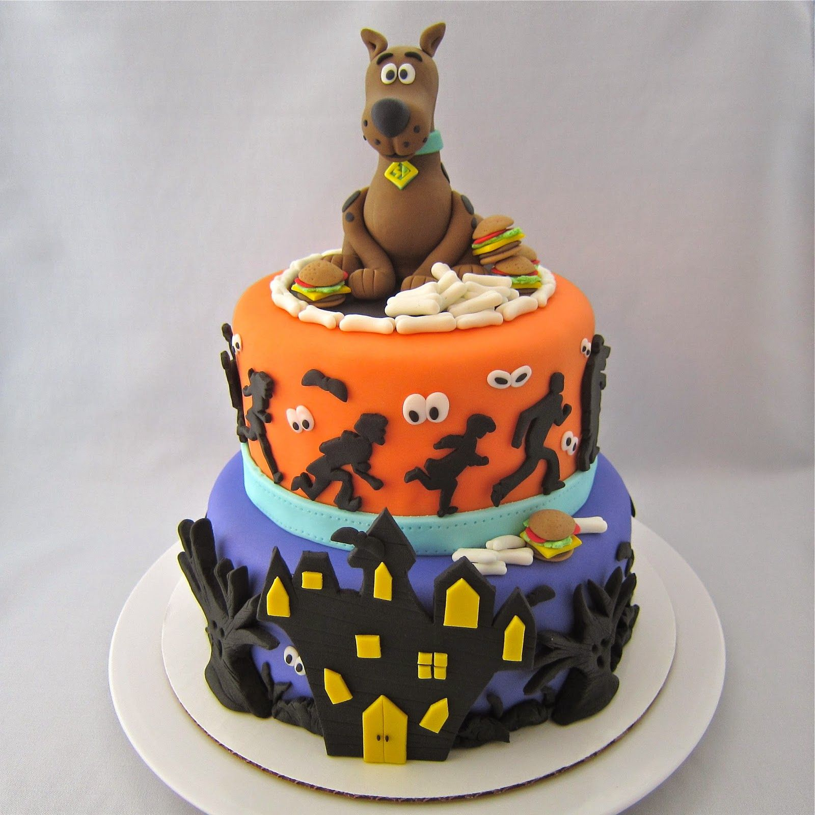 Clever wren scoobydoo cake cake of cakes scooby doo
