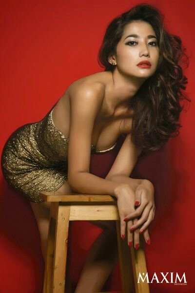 Adelia Rasya Di Majalah Maxim Indonesia