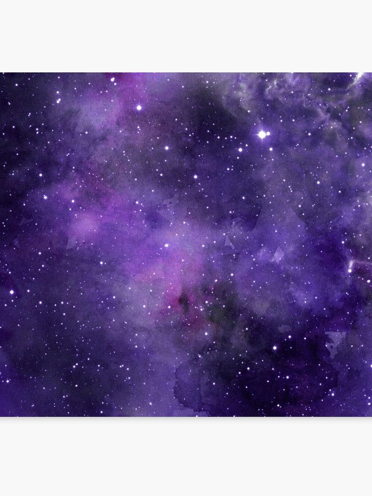 Lienzo ''Galaxia de acuarela amatista' de peggieprints