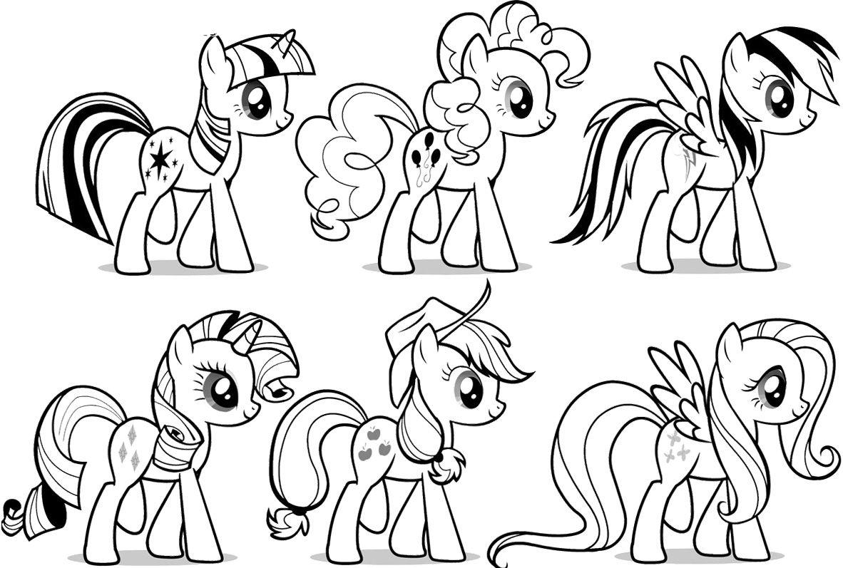 my little pony ausmalbilder # 16
