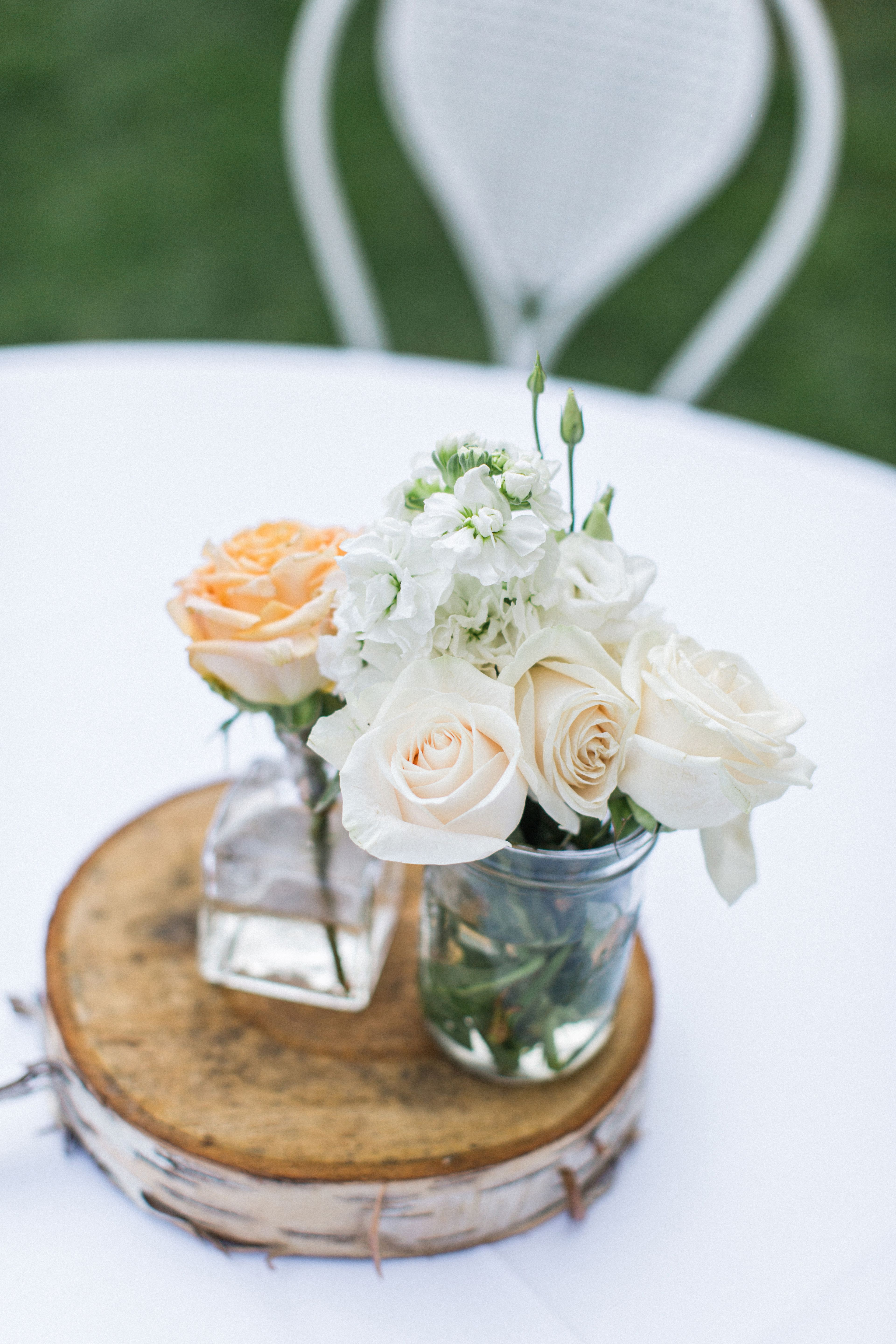 Funky Flower and Fruit Filled Wedding at Crabtree's Kittle