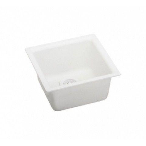 granite single basin sink elkay elg1616wh gourmet single bowl sink e granite universal mount