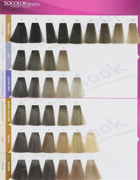 Image Result For Matrix Hair Color Swatch Book Color Chart