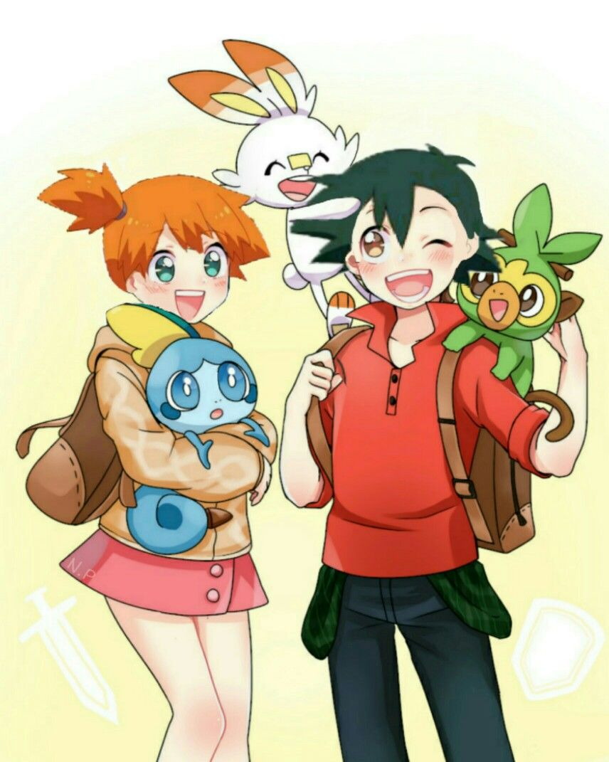 Pokeshipping Ash And Misty Pokemon Sword And Shield Pokemon