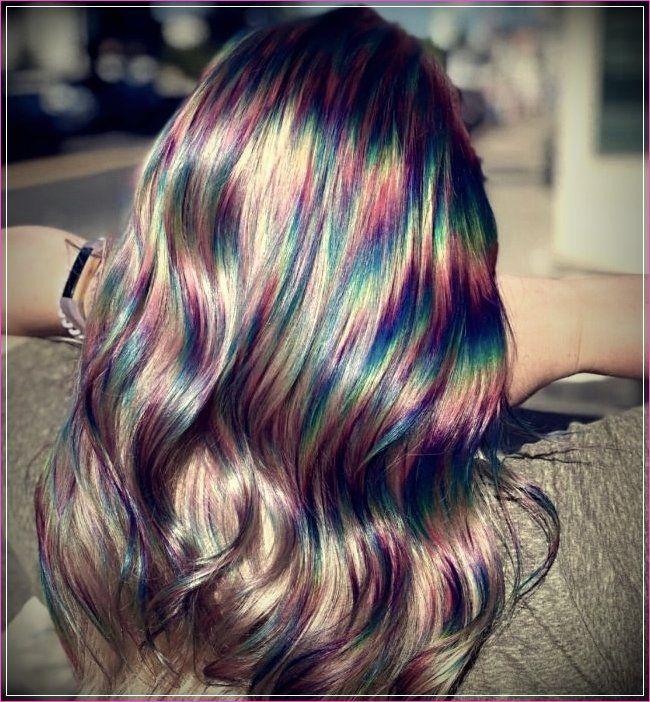 8 Regenbogen Frisuren Ihr Aussehen Farbe Geben Bunte Haare Haarfarben Frisuren