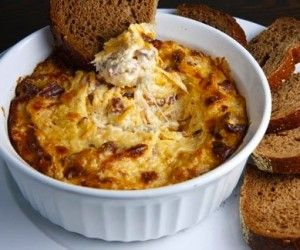 Reuben dip... Everything you love about an authentic reuben sandwich, baked into a tasty warm dip.