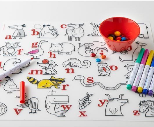 Modern-Twist Kidz Box - Alphabet Animals 30$