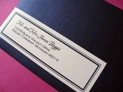 Photo Via. Mailing LabelsAddress LabelsInvitation DesignInvitation Ideas Wedding ...